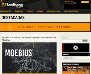 pantallazo radio beethoven